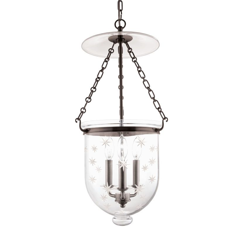 Hudson Valley Lighting 254-C3 Three Light Pendant from the Hampton