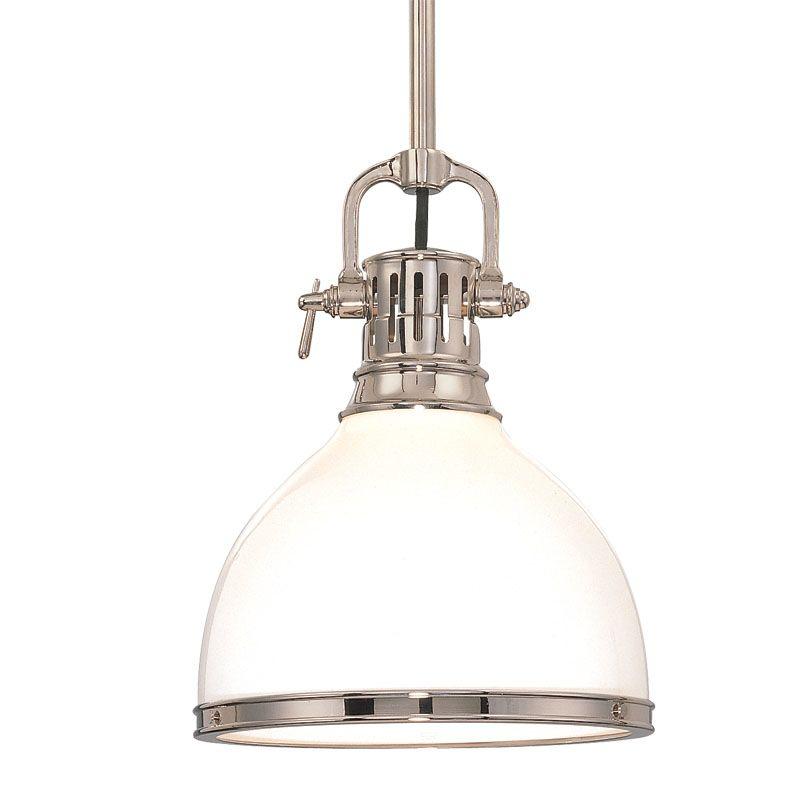 Hudson Valley Lighting 2621 Randolph 1 Light Farmhouse Style Mini Sale $398.00 ITEM#: 524831 MODEL# :2621-PN UPC#: 806134040895 :