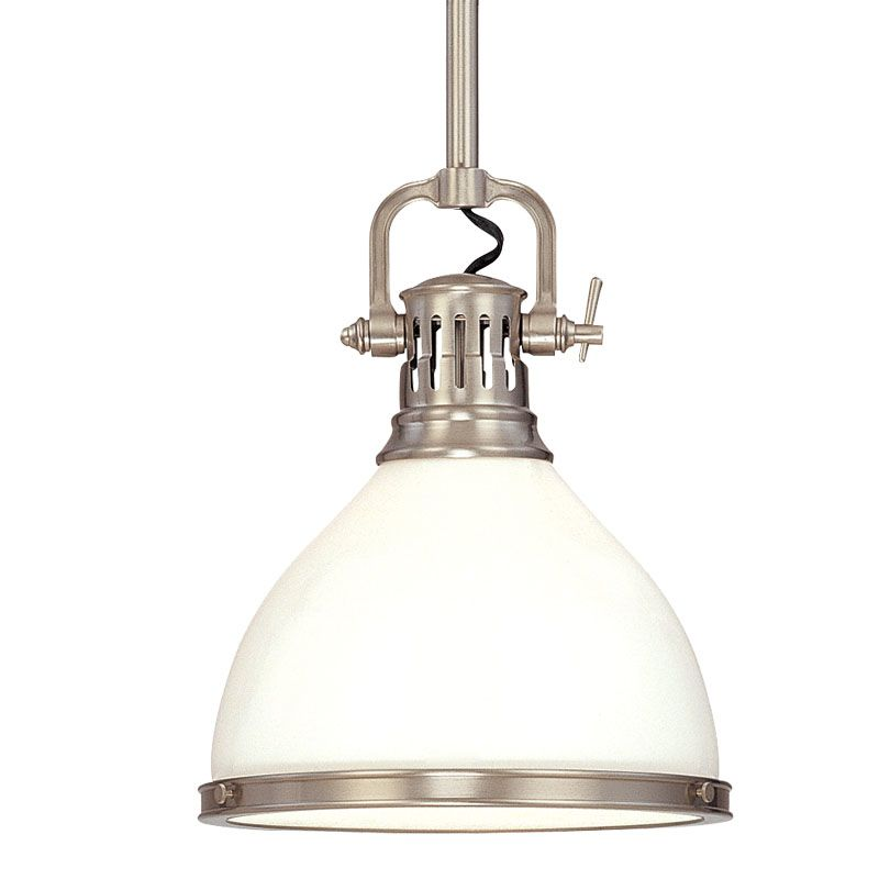 Hudson Valley Lighting 2621 Randolph 1 Light Farmhouse Style Mini Sale $398.00 ITEM#: 543807 MODEL# :2621-SN UPC#: 806134054601 :