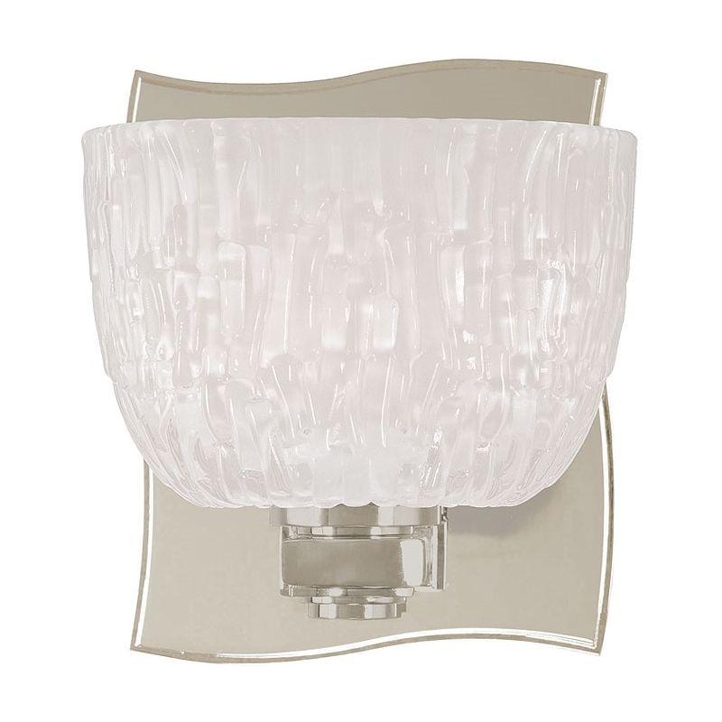 Hudson Valley Lighting 2661 Single Light Up Lighting Bath Vanity with Sale $172.00 ITEM#: 1737235 MODEL# :2661-SN UPC#: 806134123468 :