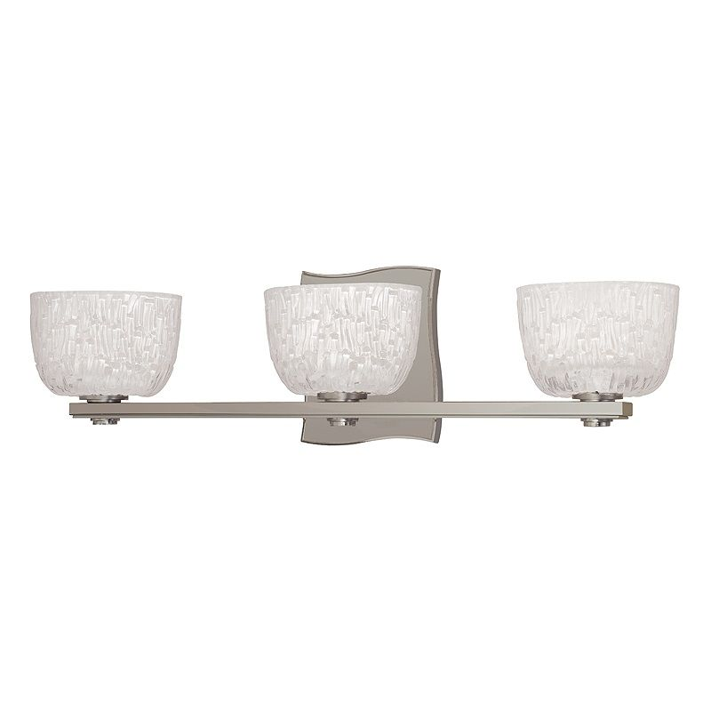 Hudson Valley Lighting 2663 Three Light Up Lighting Bath Vanity with