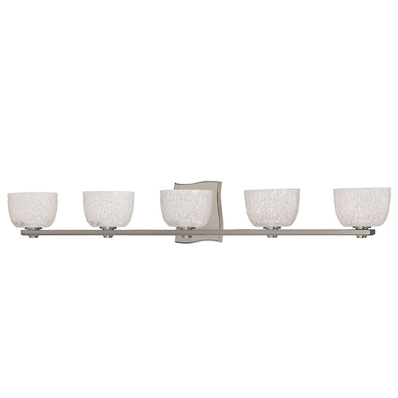 Hudson Valley Lighting 2665 Five Light Up Lighting Bath Vanity with