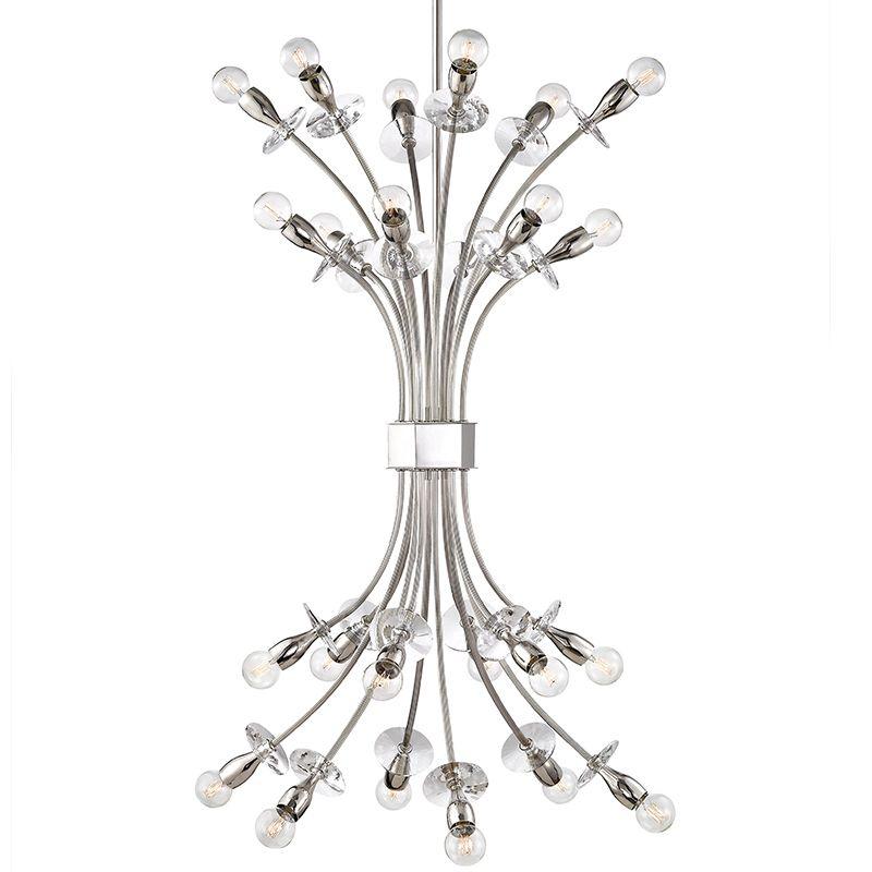 Hudson Valley Lighting 2724 Alexandria 24 Light Chandelier Polished Sale $2350.00 ITEM#: 2793309 MODEL# :2724-PN UPC#: 806134195410 :
