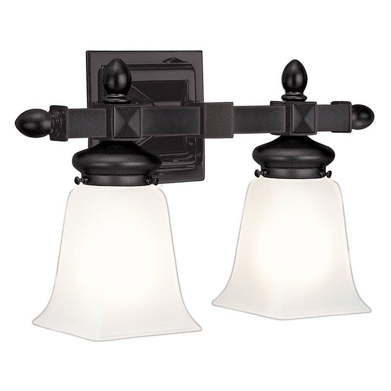 "Hudson Valley Lighting 2822 Two Light 15"" Wide Bathroom Fixture from Sale $278.00 ITEM#: 523806 MODEL# :2822-OB UPC#: 806134013431 :"