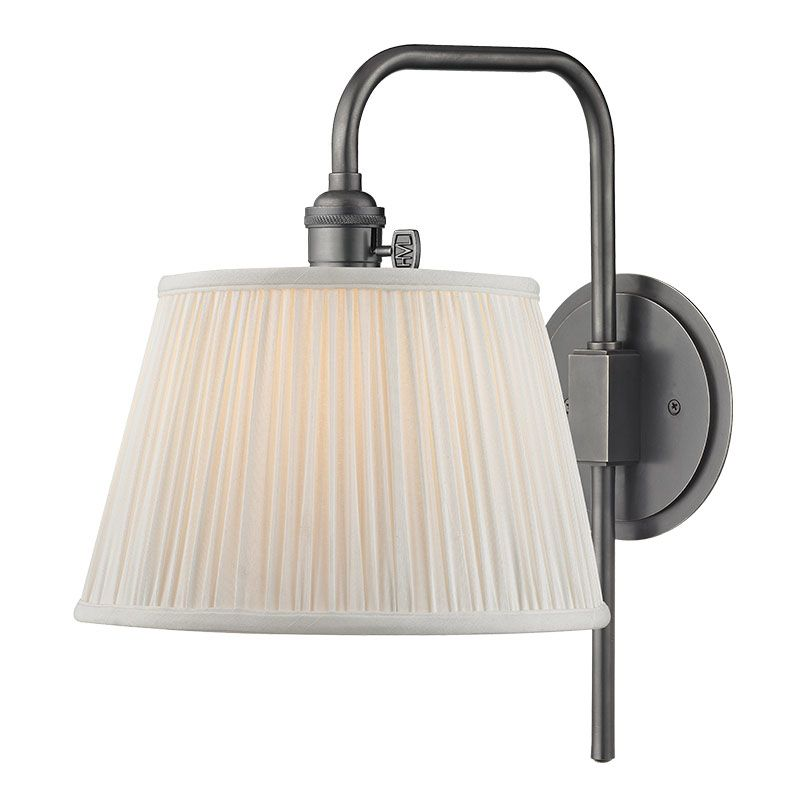 Hudson Valley Lighting 2931 Fillmore 1 Light Wall Sconce with Pleated