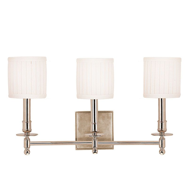 Hudson Valley Lighting 303 Palmer 3 Light Bathroom Vanity Fixture with