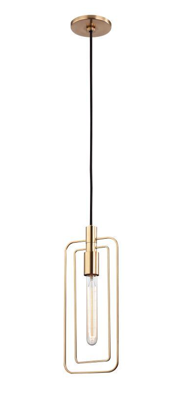 """Hudson Valley Lighting 3030 Masonville Single Light 6.25"""" Wide Pendant"""