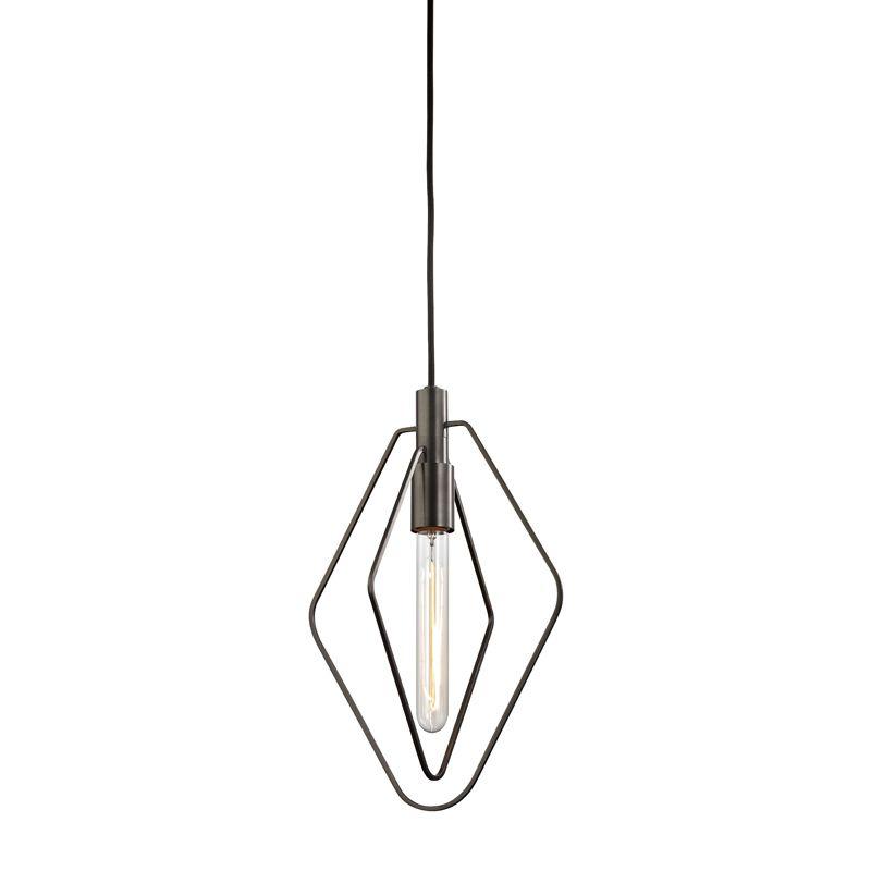 """Hudson Valley Lighting 3040 Masonville Single Light 9.75"""" Wide Pendant"""