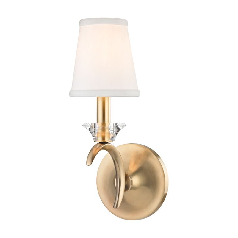 "Hudson Valley Lighting 3191 Marcellus Single Light 6"" Wide Wall Sconce"