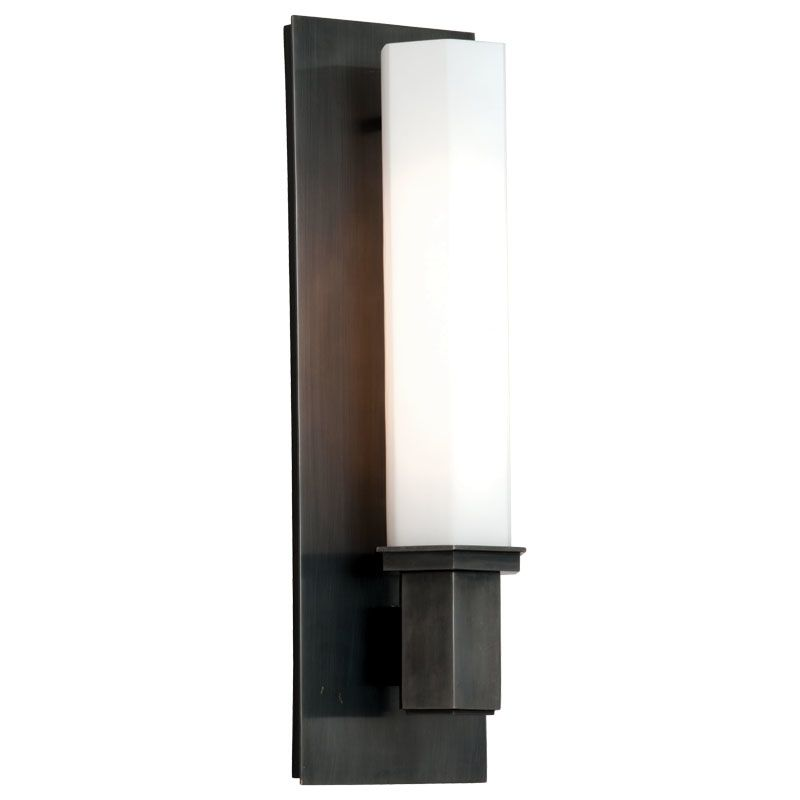 Hudson Valley Lighting 320 Walton 1 Light Bathroom Sconce Old Bronze