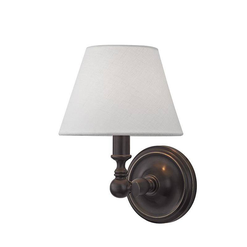 """Hudson Valley Lighting 3221 Sidney Single Light 9"""" Wall sconce with"""