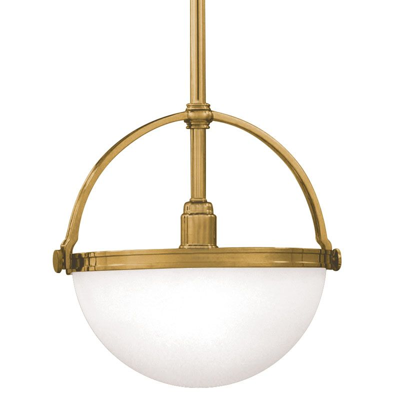 Hudson Valley Lighting 3312 Single Light Down Light Pendant From the