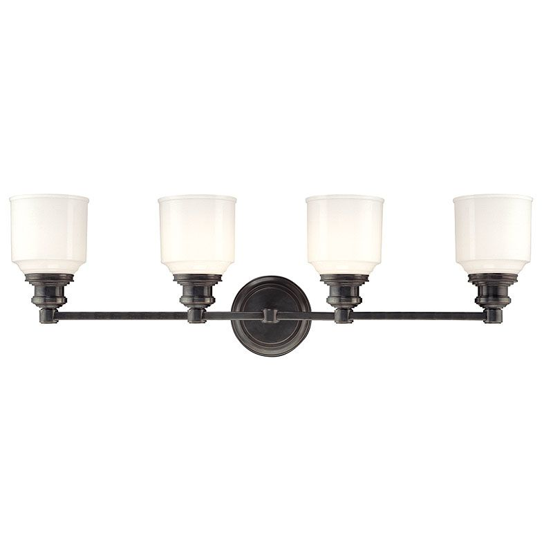 Hudson Valley Lighting 3404 Four Light Wall Sconce from the Windham