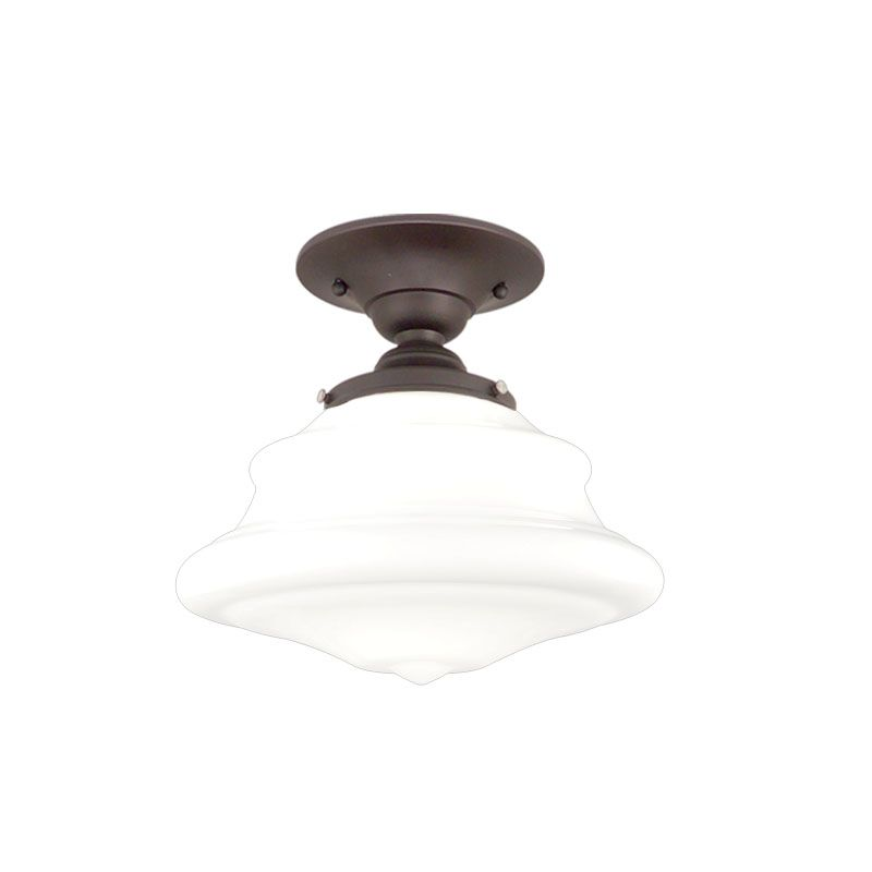 Hudson Valley Lighting 3409F One Light Semi Flush Ceiling Fixture from Sale $179.00 ITEM#: 984403 MODEL# :3409F-OB UPC#: 806134023201 :