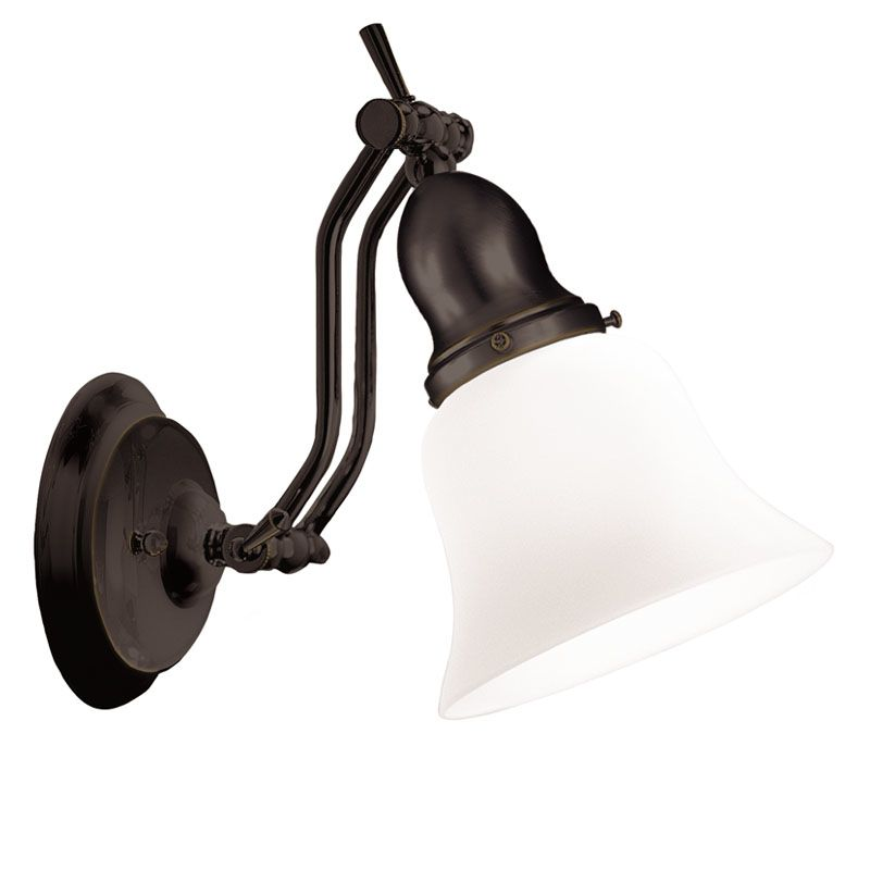 Hudson Valley Lighting 341 Adjustables 1 Light Swing Arm Wall Sconce Sale $199.00 ITEM#: 525754 MODEL# :341-OB UPC#: 806134023409 :