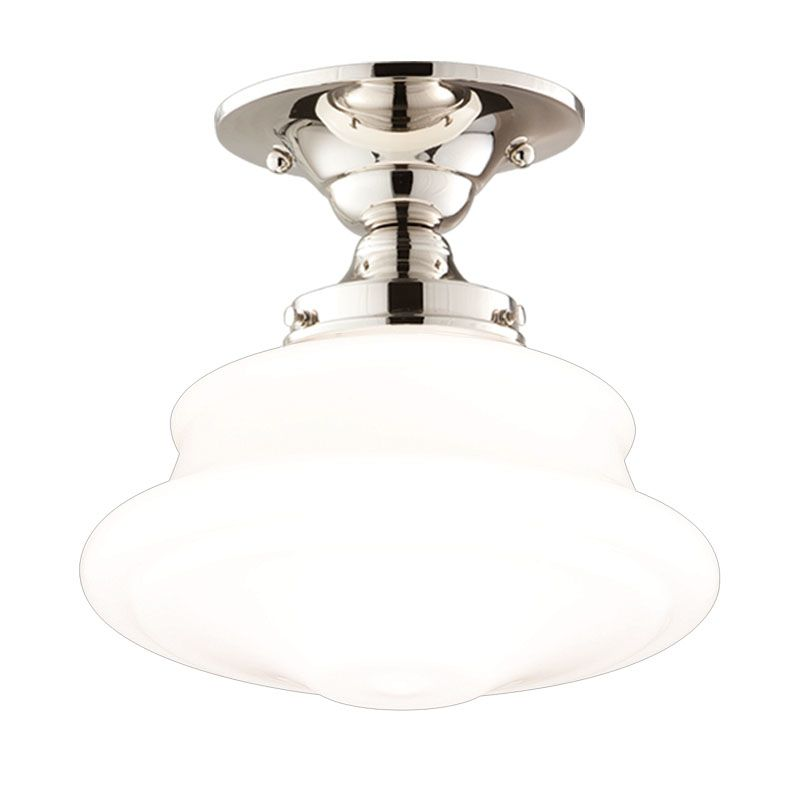 Hudson Valley Lighting 3416F Single Light Semi Flush Ceiling Mount Sale $279.00 ITEM#: 525010 MODEL# :3416F-PN UPC#: 806134023348 :