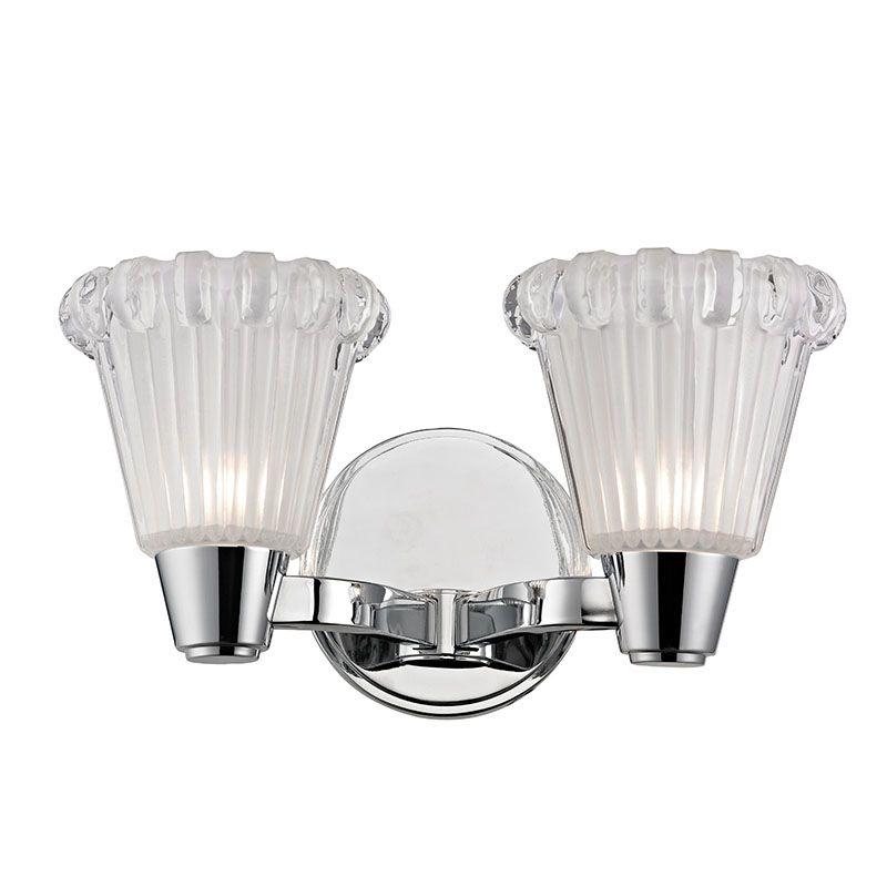 Hudson Valley Lighting 3442 Varick 2 Light Bathroom Vanity Light with