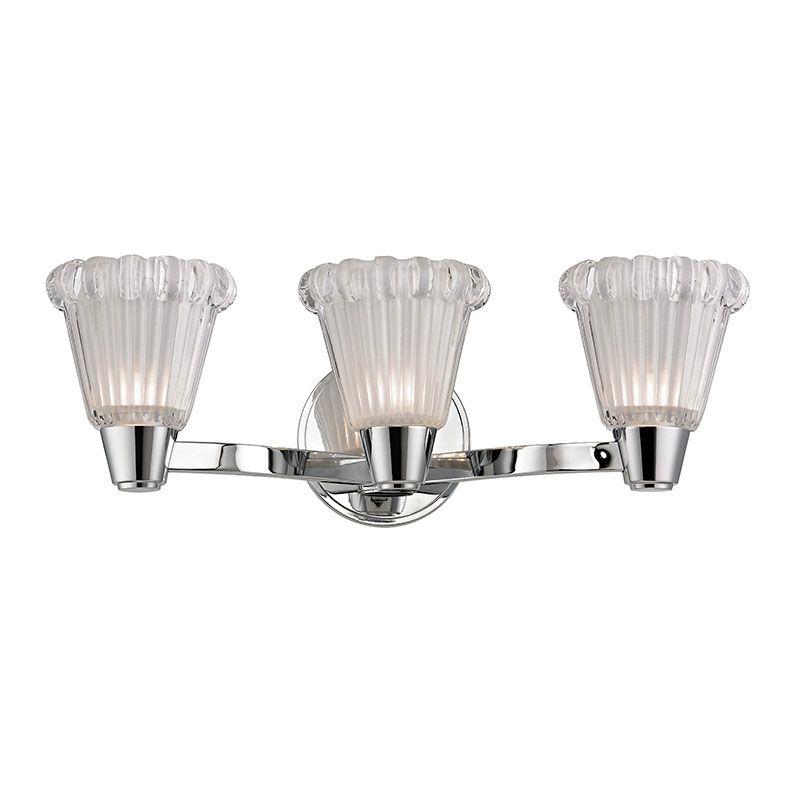 Hudson Valley Lighting 3443 Varick 3 Light Bathroom Vanity Light with
