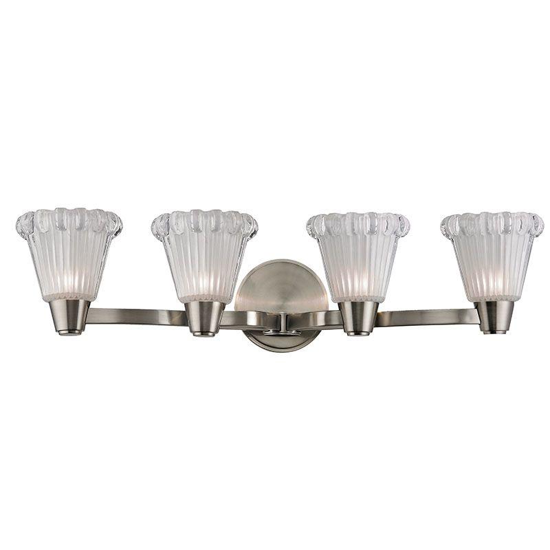 Hudson Valley Lighting 3444 Varick 4 Light Bathroom Vanity Light with