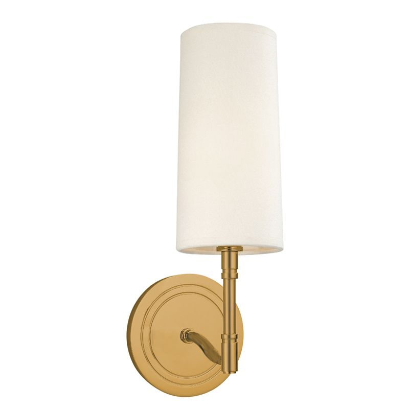 Hudson Valley Lighting 361 One Light Wall Sconce from the Dillion Sale $236.00 ITEM#: 982159 MODEL# :361-AGB UPC#: 806134102074 :