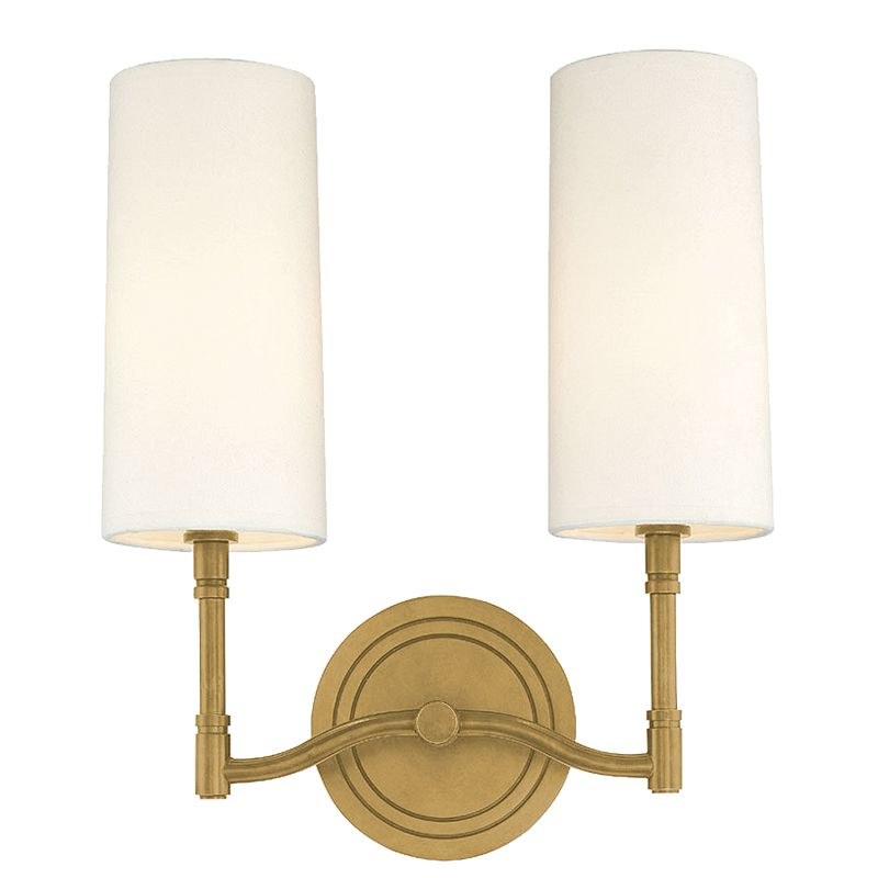Hudson Valley Lighting 362 Two Light Wall Sconce from the Dillion