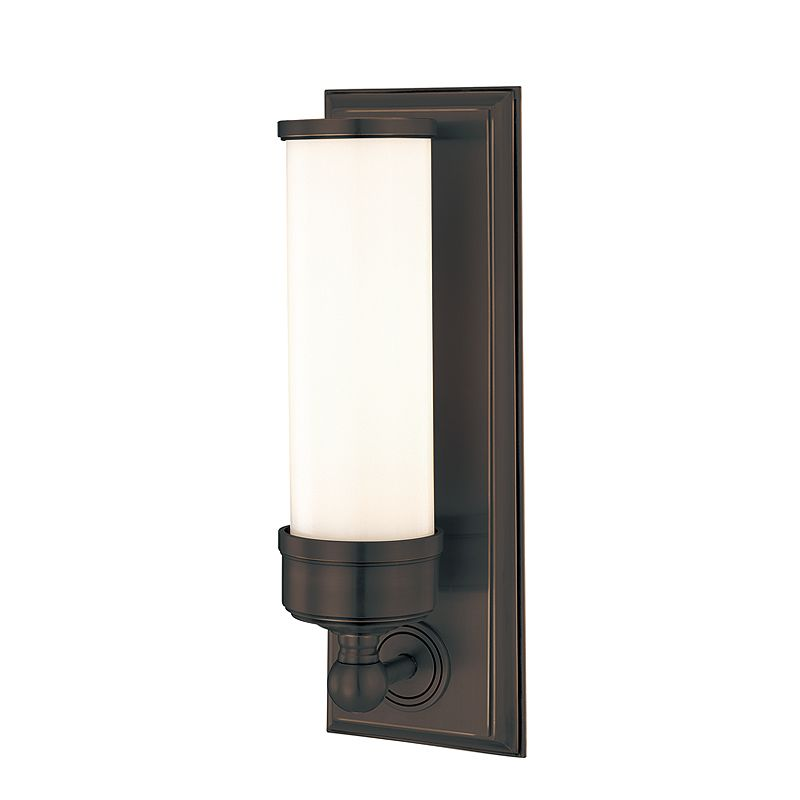 Hudson Valley Lighting 371 Indoor Wall Sconce Light Old Bronze Indoor