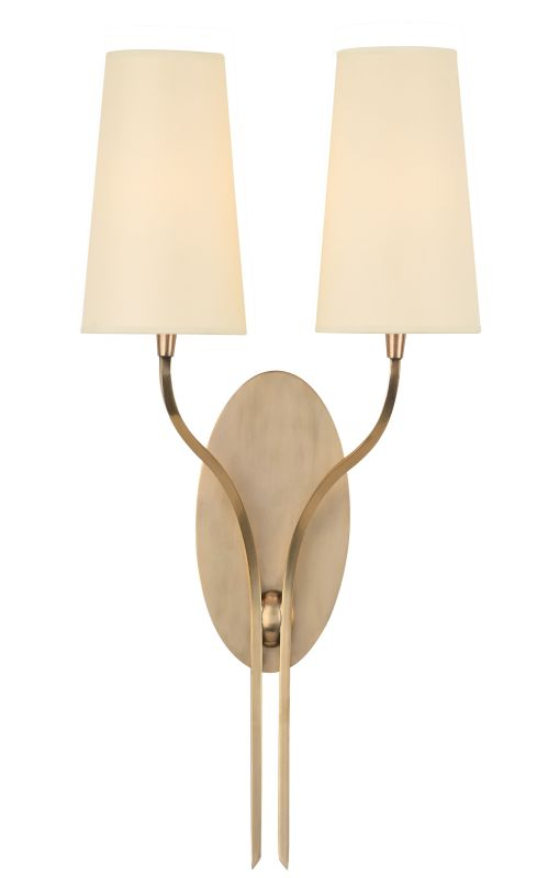 Hudson Valley Lighting 3712 Rutland 2 Light Wall Sconce Aged Brass Sale $428.00 ITEM#: 2294987 MODEL# :3712-AGB UPC#: 806134159733 :
