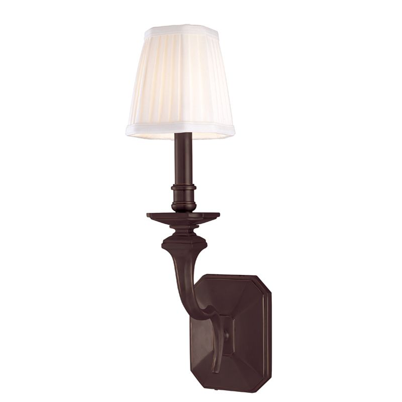 "Hudson Valley Lighting 381 Single Light 7.75"" Wide Reversible Wall"