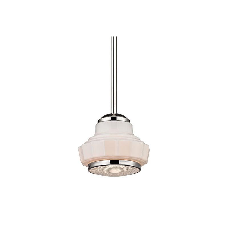 "Hudson Valley Lighting 3816 Odessa 1 Light 16"" Schoolhouse Pendant"