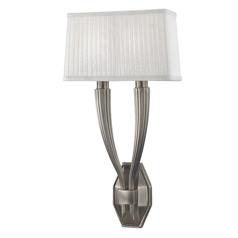 "Hudson Valley Lighting 3862 Erie 2 Light 21"" Tall Wall Sconce with"