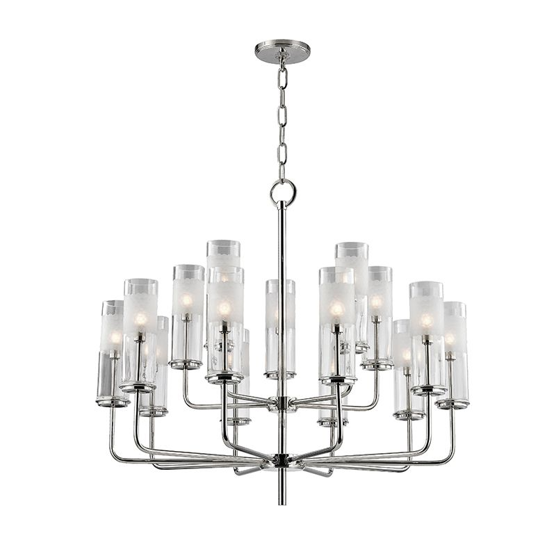 "Hudson Valley Lighting 3930 Wentworth 15 Light 26"" Tall Two Tier"