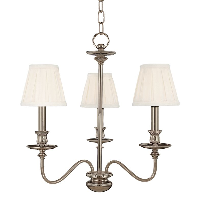 Hudson Valley Lighting 4033 Three Light Chandelier from the Menlo Park