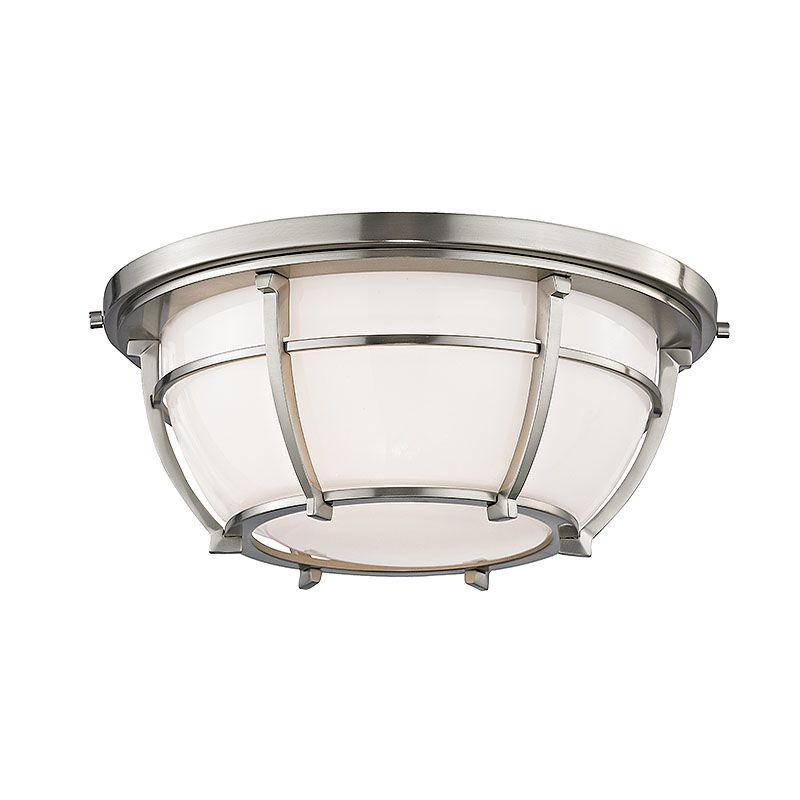 Hudson Valley Lighting 4112 Conrad 2 Light Flush Mount Ceiling Fixture