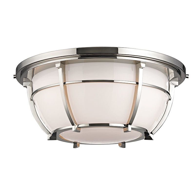 Hudson Valley Lighting 4115 Conrad 3 Light Flush Mount Ceiling Fixture