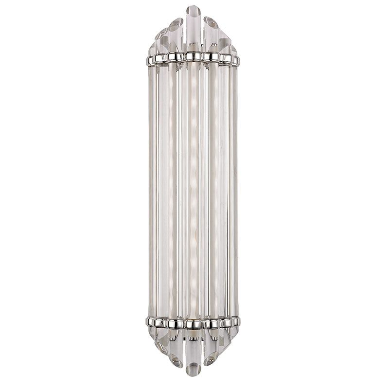 "Hudson Valley Lighting 414 Albion 25"" LED Bath Bar with Clear Glass"