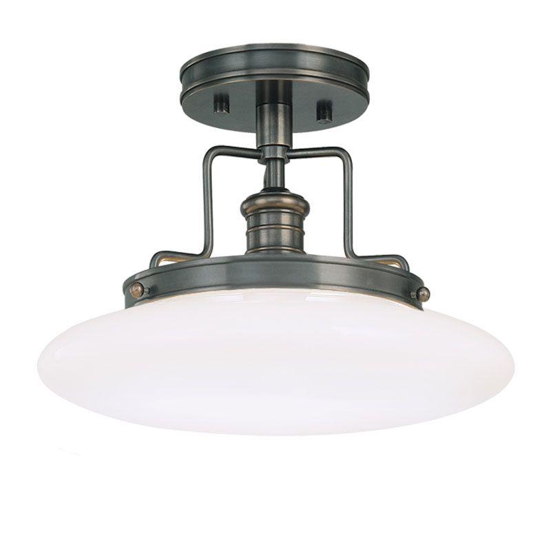 Hudson Valley Lighting 4202 Beacon 1 Light Semi-Flush Ceiling Fixture