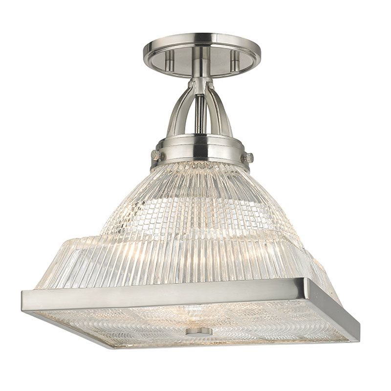 Hudson Valley Lighting 4410 Harriman 1 Light Semi-Flush Ceiling