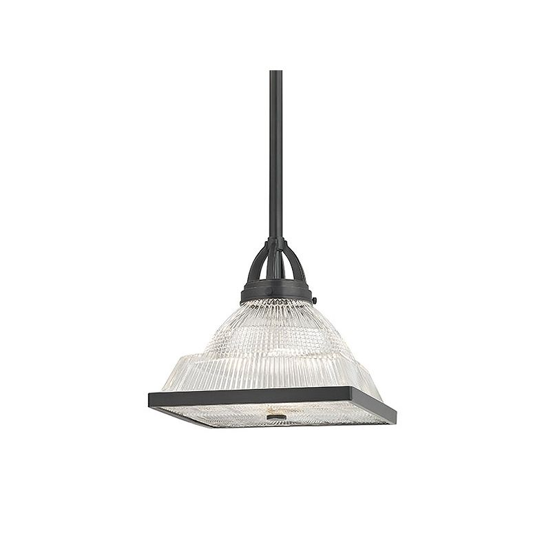 "Hudson Valley Lighting 4411 Harriman 1 Light 12"" Pendant with"