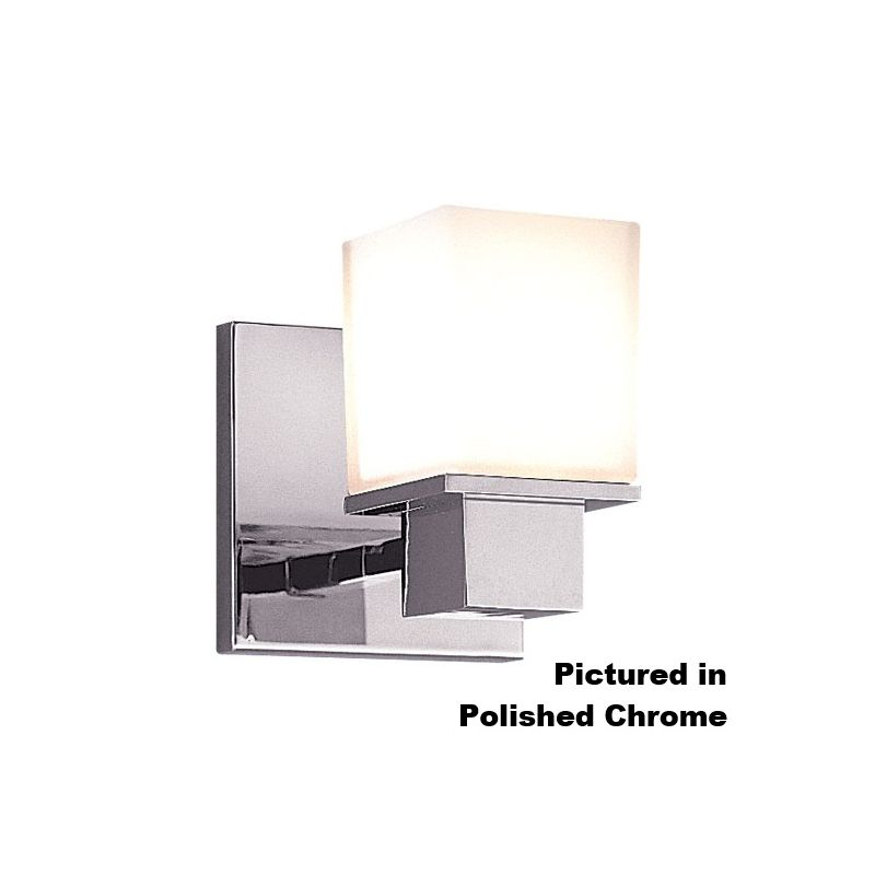 Hudson Valley Lighting 4441 Milford 1 Light Bathroom Wall Sconce Satin