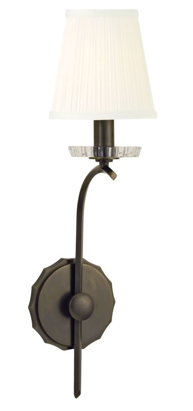 Hudson Valley Lighting 4481 Clyde 1 Light Wall Sconce Old Bronze