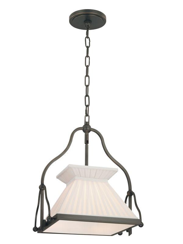 Hudson Valley Lighting 4514 Clifton 1 Light Pendant Old Bronze Indoor