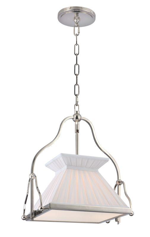 Hudson Valley Lighting 4514 Clifton 1 Light Pendant Polished Nickel