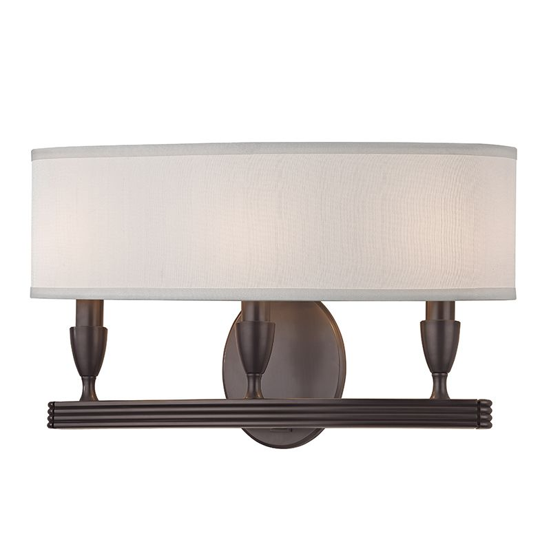 "Hudson Valley Lighting 4543 Bancroft 3 Light 10"" Tall Wall Sconce with"