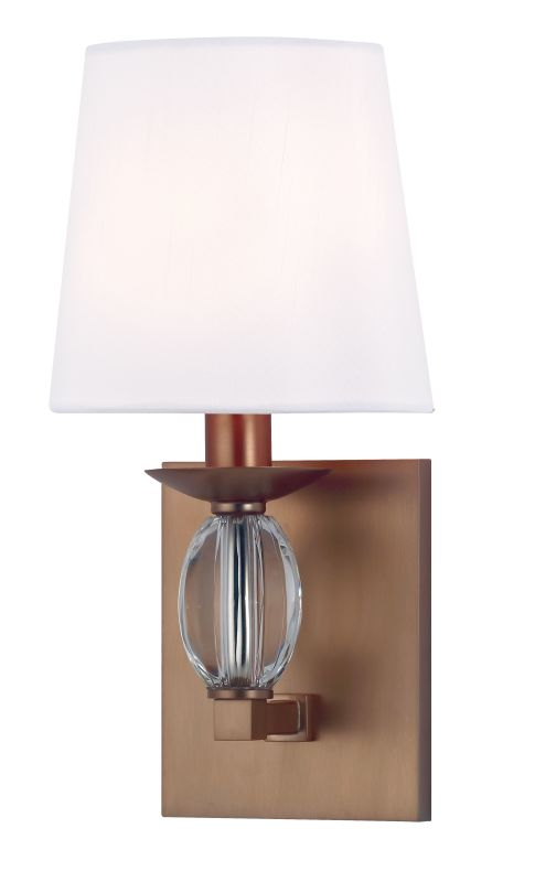 Hudson Valley Lighting 4611 Cameron 1 Light ADA Wall Sconce Brushed
