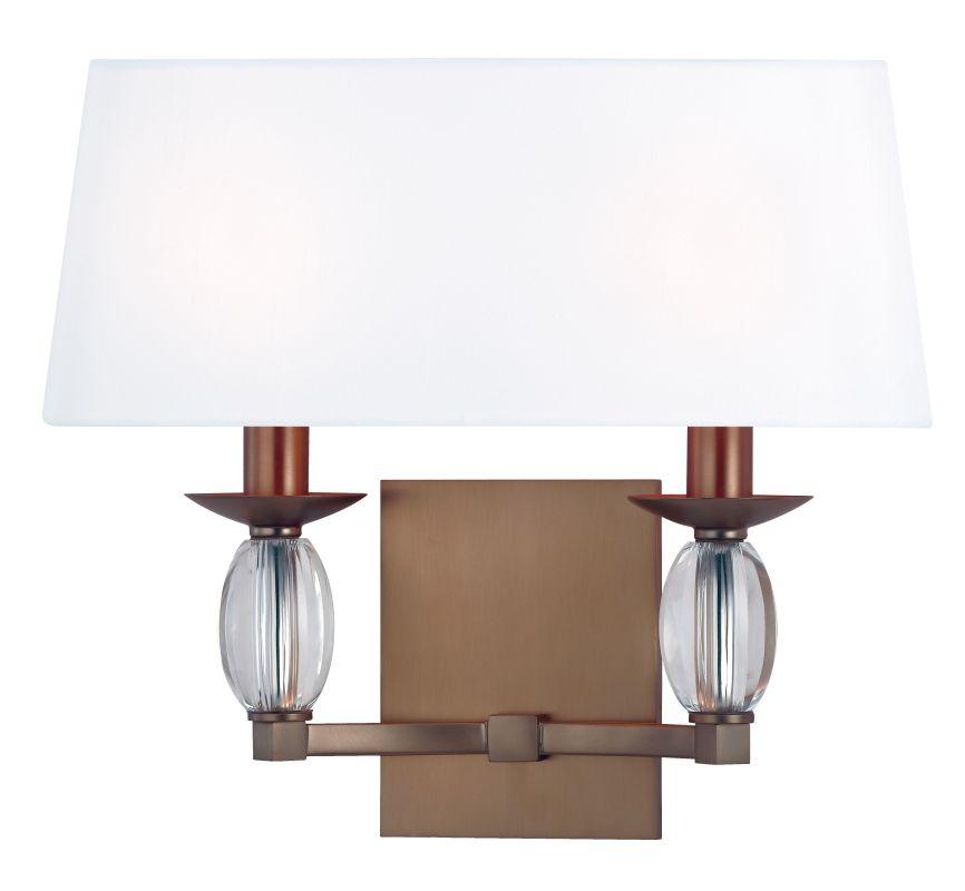 Hudson Valley Lighting 4612 Cameron 2 Light ADA Wall Sconce Brushed Sale $320.00 ITEM#: 2295437 MODEL# :4612-BB UPC#: 806134160074 :