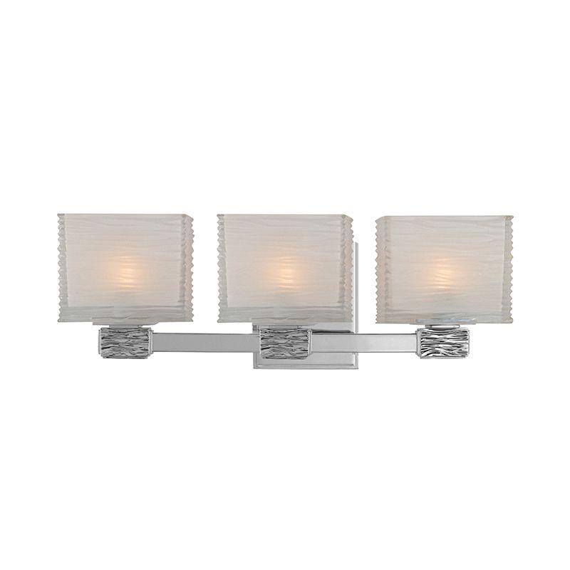 Hudson Valley Lighting 4663 Hartsdale 3 Light Bathroom Vanity Light Sale $376.00 ITEM#: 1737420 MODEL# :4663-PN UPC#: 806134118938 :