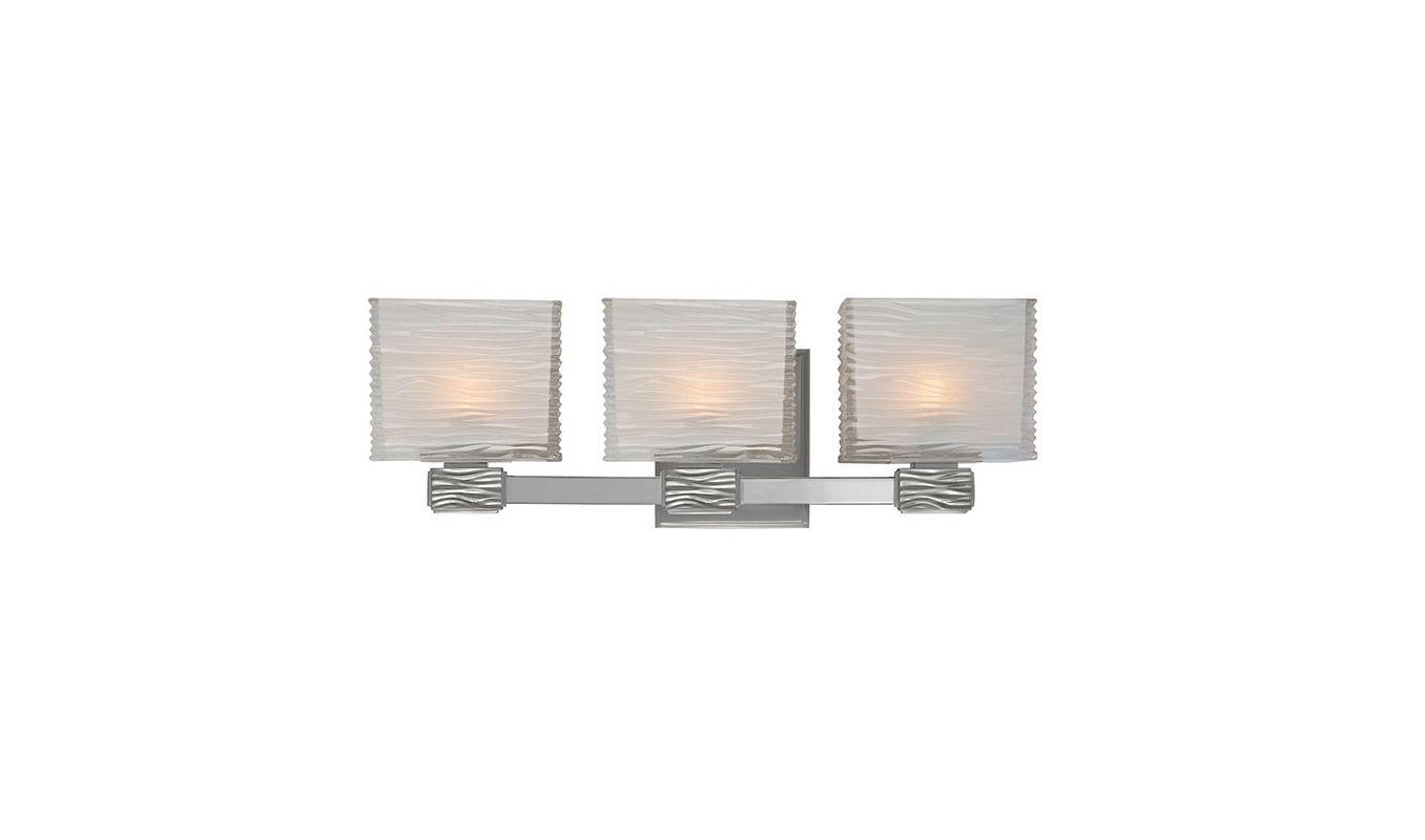 Hudson Valley Lighting 4663 Hartsdale 3 Light Bathroom Vanity Light Sale $376.00 ITEM#: 1737421 MODEL# :4663-SN UPC#: 806134118945 :