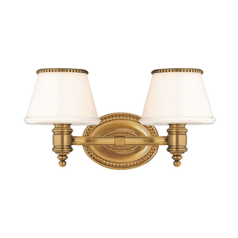 Hudson Valley Lighting 4942 Richmond 2 Light Bathroom Vanity Fixture Sale $344.00 ITEM#: 982691 MODEL# :4942-FB UPC#: 806134101725 :