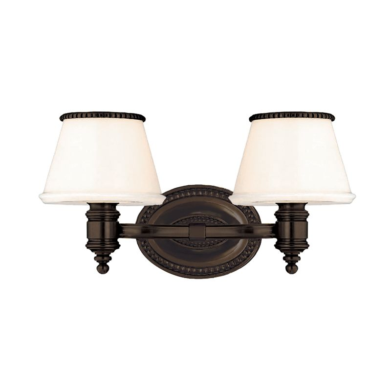 Hudson Valley Lighting 4942 Richmond 2 Light Bathroom Vanity Fixture Sale $344.00 ITEM#: 982692 MODEL# :4942-OB UPC#: 806134101732 :