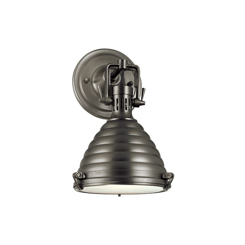 Hudson Valley Lighting 5108 One Light Wall Sconce from the Naugatuck